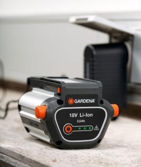 gardena system akku bli 18 2 6 ah 09839 20 bei. Black Bedroom Furniture Sets. Home Design Ideas