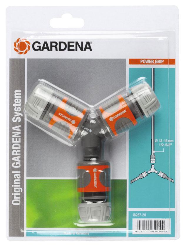 gardena abzweig satz f r 13mm 1 2 15mm 5 8 schlauch. Black Bedroom Furniture Sets. Home Design Ideas