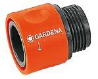 GARDENA Übergangs-Schlauchstück 00917-50 oder 02917-20 Bild 1