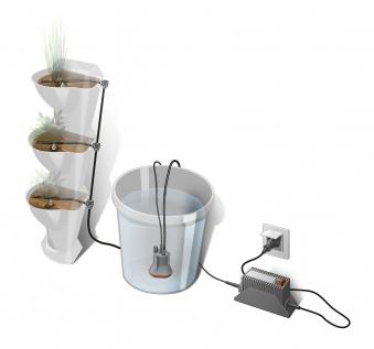 GARDENA NatureUp Erweiterungsset Bewässerung Wasserbehälter 13158-20 Bild 1