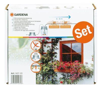 GARDENA Vollautomatische Blumenkastenbewässerung 01407-20 Bild 1