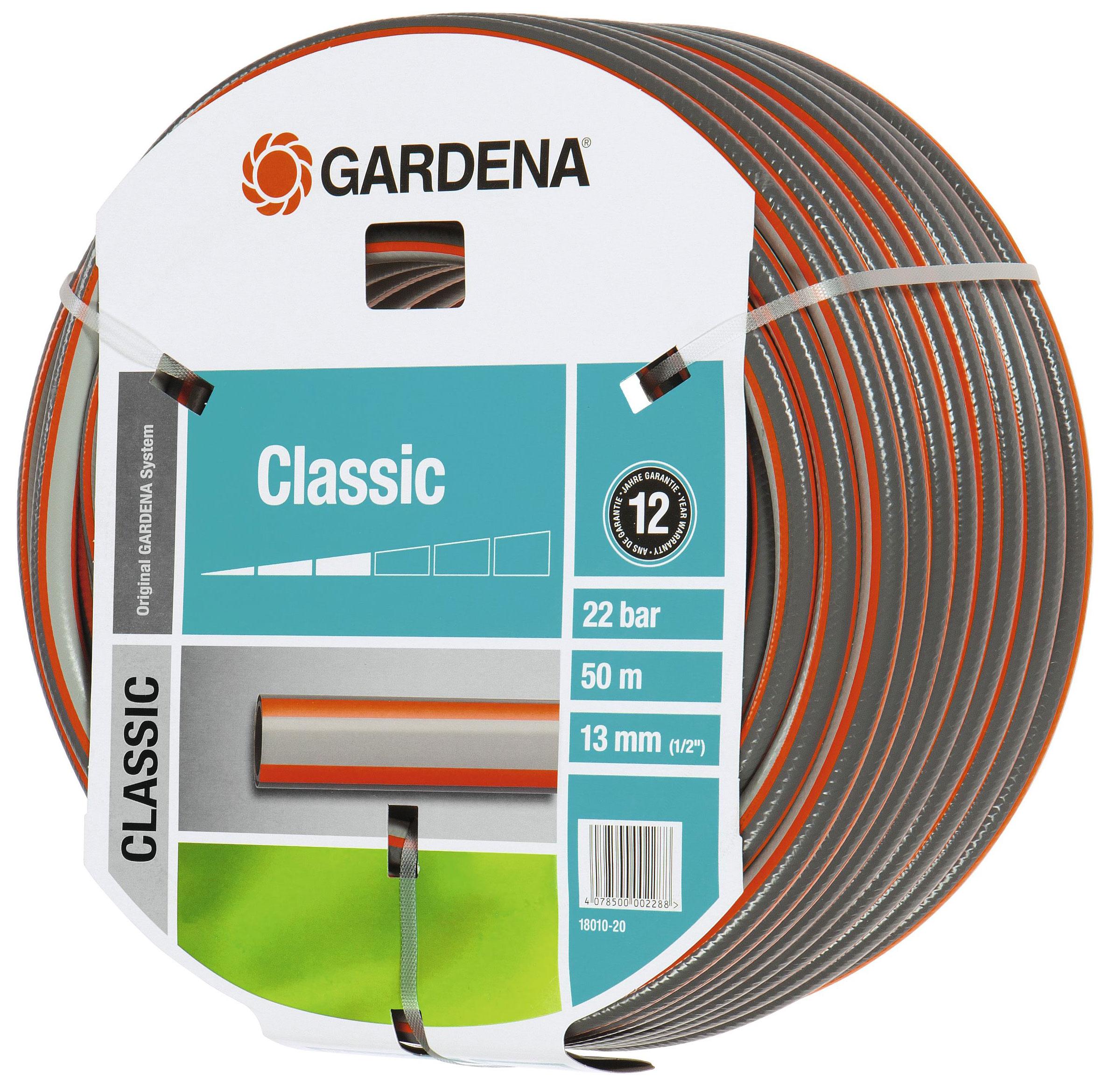 gardena classic schlauch 1 2 50m 1810 20 bei. Black Bedroom Furniture Sets. Home Design Ideas