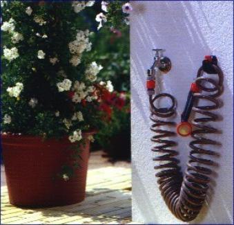 gardena spiralschlauch set 04647 20 bei. Black Bedroom Furniture Sets. Home Design Ideas