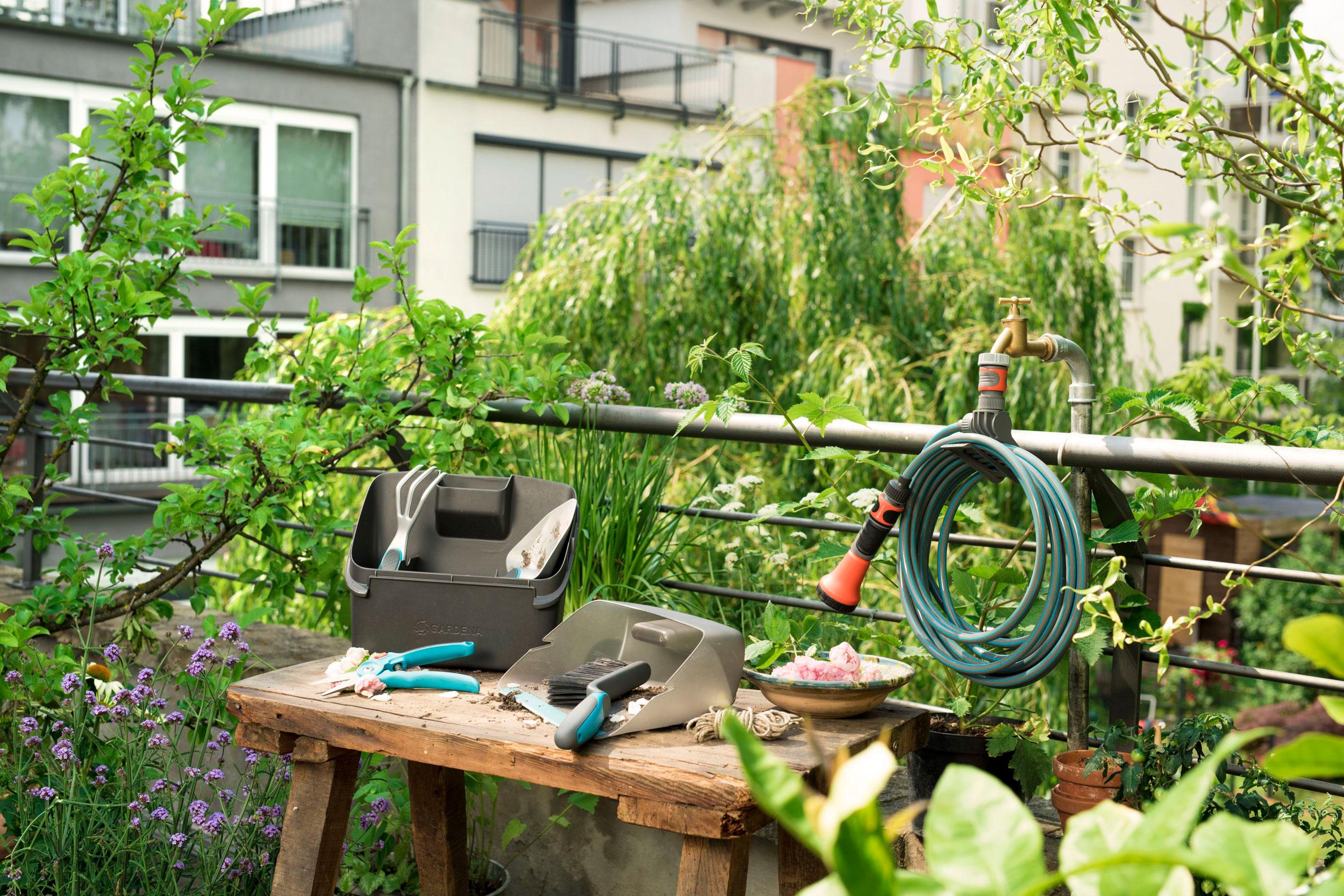 GARDENA city gardening Terrassen-Spiralschlauch 7,5m 18411-20 Bild 5
