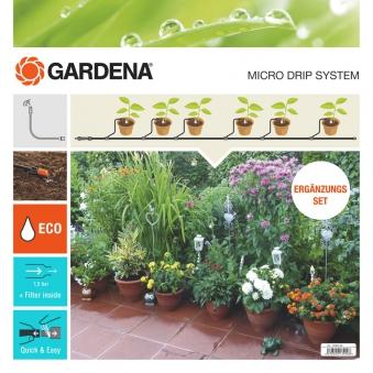 GARDENA Micro-Drip-System Erweiterungsset Pflanztröge 13006-20 Bild 1