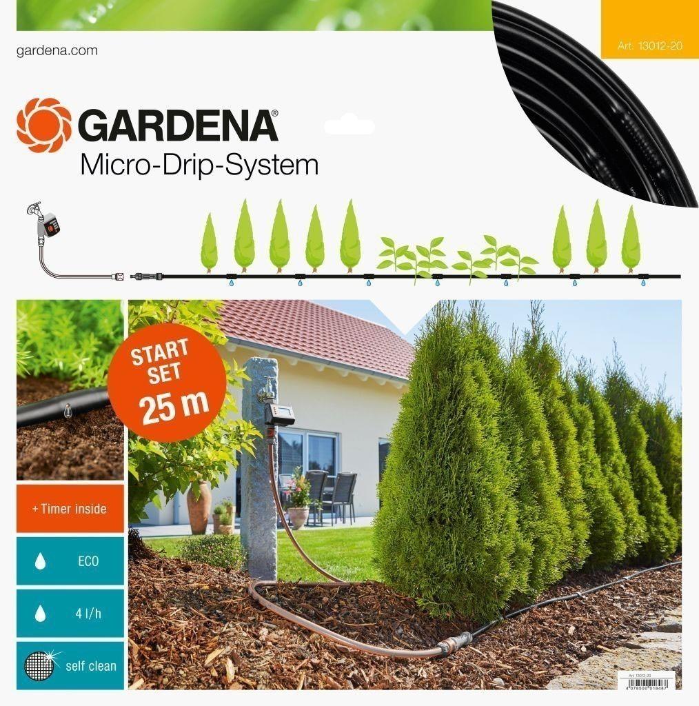 gardena micro drip system start set pflanzreihen m. Black Bedroom Furniture Sets. Home Design Ideas