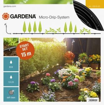 GARDENA Micro-Drip-System Start-Set Pflanzreihen S 13010-20 Bild 1