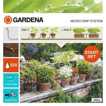 GARDENA Micro-Drip-System Start-Set Pflanztöpfe M 13001-20 Bild 1
