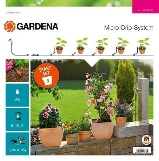 GARDENA Micro-Drip-System Start-Set Pflanztöpfe S 13000-20 Bild 1