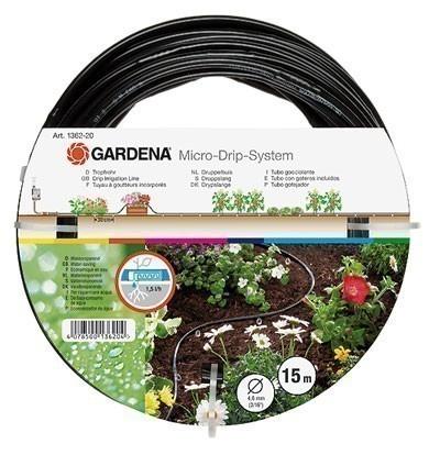 """GARDENA Mirco-Drip-System Tropfrohr oberirdisch 3/16"""" 01362-20 Bild 1"""