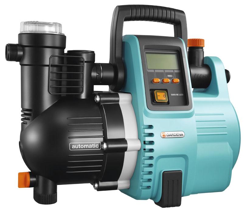 GARDENA Hauswasserautomat Comfort 5000/5E LCD 01759-20 Bild 1