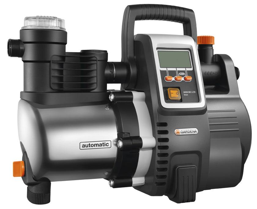 GARDENA Hauswasserautomat Premium 6000/6E LCD Inox 01760-20 Bild 1