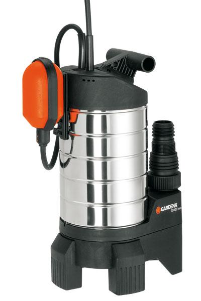 GARDENA Premium Schmutzwasserpumpe 20000 inox 01802-20 Bild 1