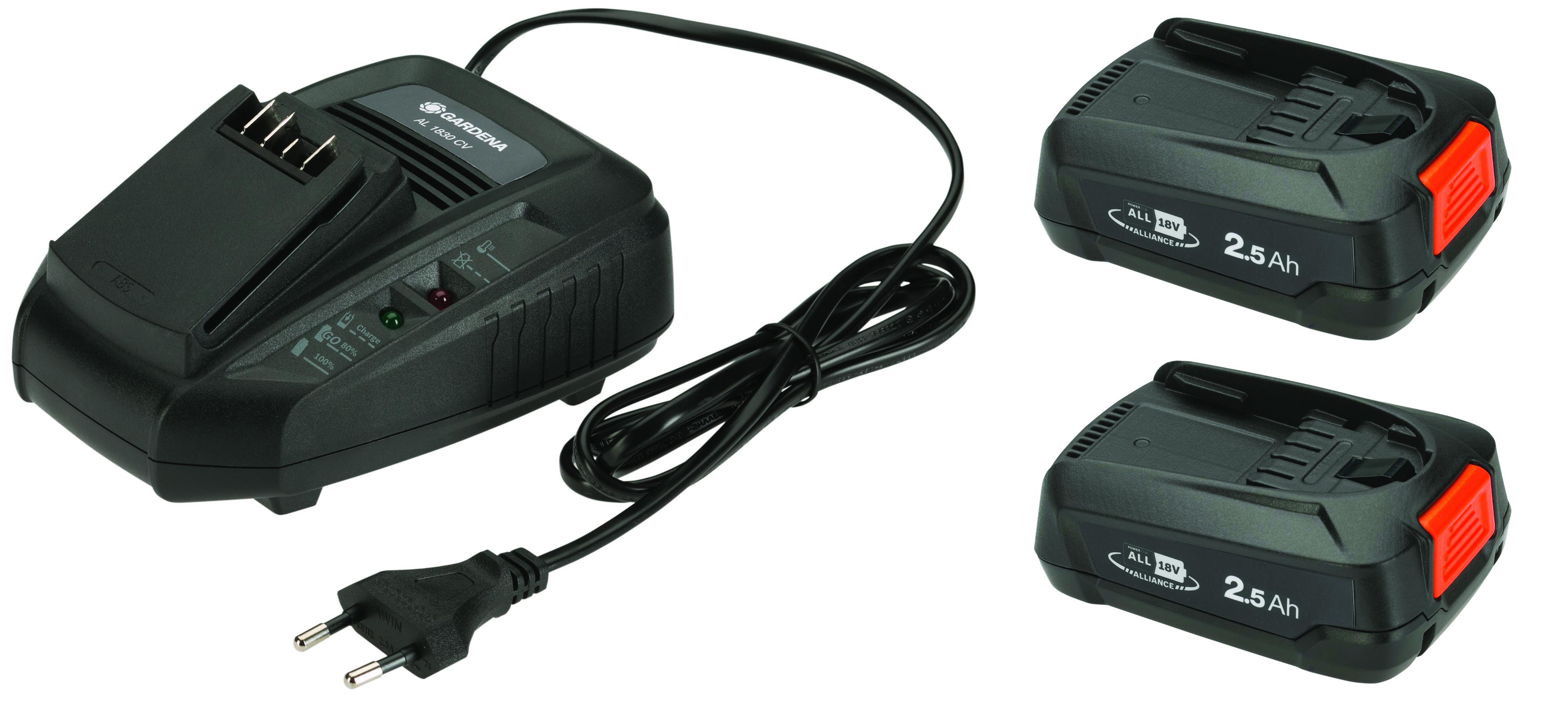 Akku-Rasenmäher PowerMax 32/36V P4A Ready-To-Use Set Bild 2
