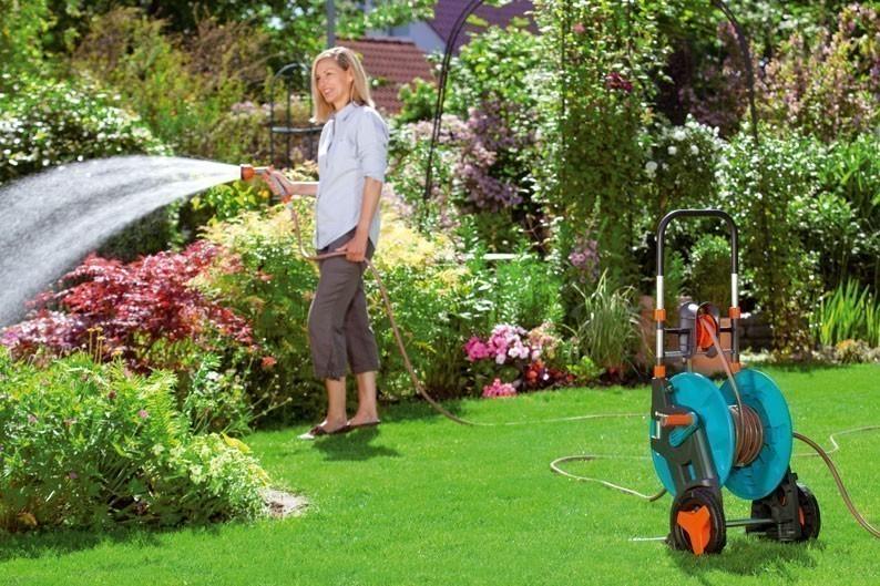 gardena schlauchwagen 60hg set 08004 20 bei. Black Bedroom Furniture Sets. Home Design Ideas