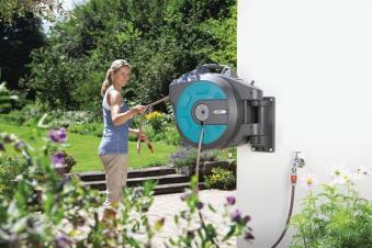 GARDENA Wand-Schlauchbox 25 roll-up automatic 08023-20 Bild 2
