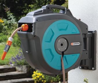 GARDENA Wand-Schlauchbox 35 roll-up automatic 08024-20 Bild 2