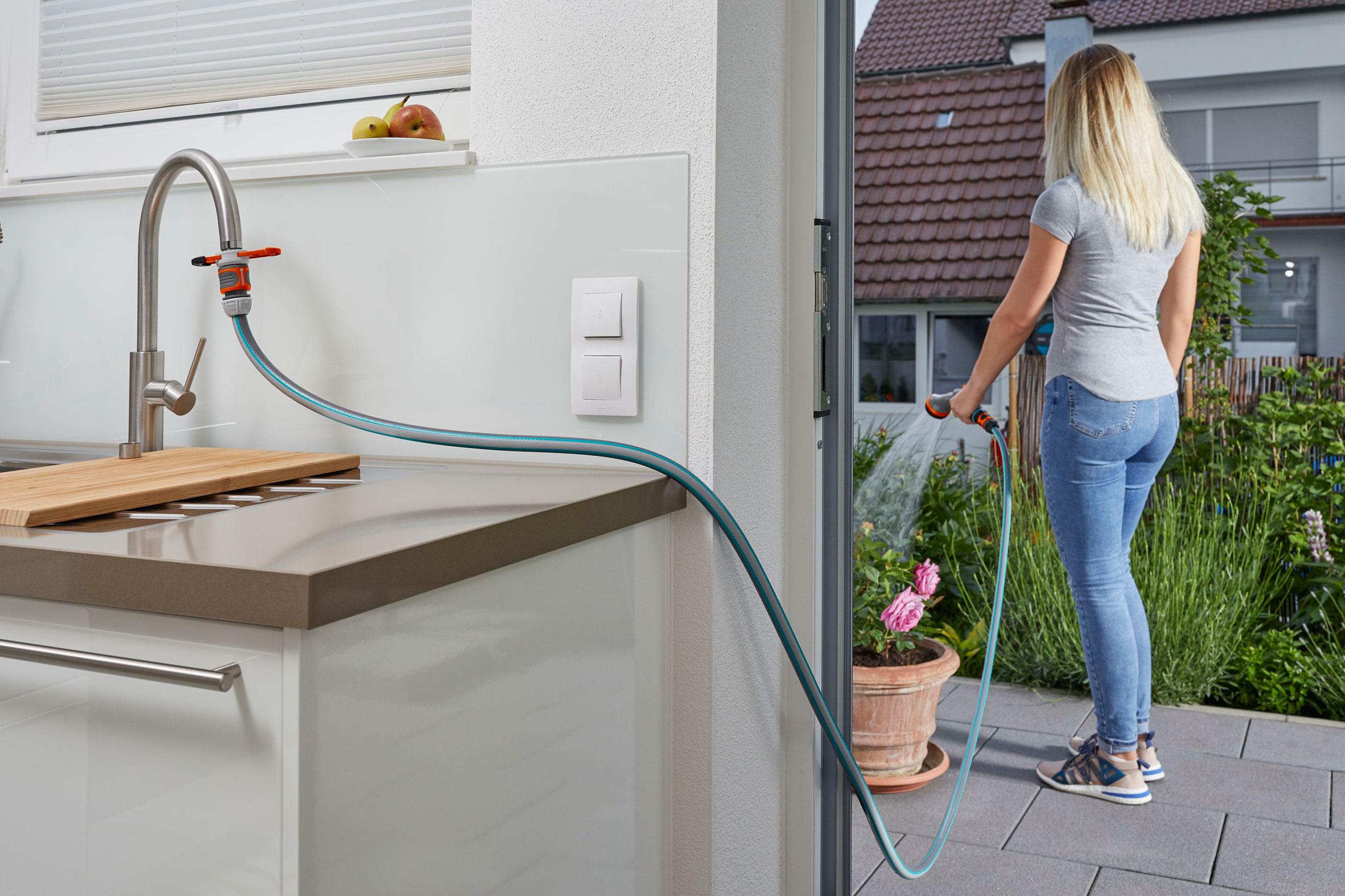B-Ware  GARDENA Adapter für Indoor-Wasserhähne 08187-20 Bild 9