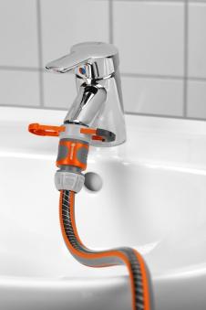B-Ware  GARDENA Adapter für Indoor-Wasserhähne 08187-20 Bild 5