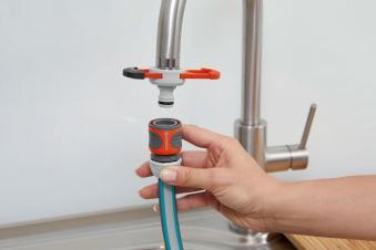 B-Ware  GARDENA Adapter für Indoor-Wasserhähne 08187-20 Bild 8