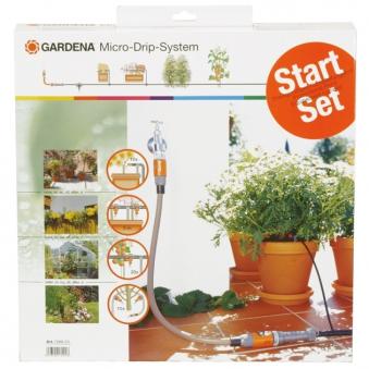 gardena bew sserung start set micro drip system bei. Black Bedroom Furniture Sets. Home Design Ideas