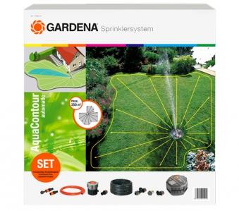 GARDENA Set mit Versenkregner AquaContour automatic 02708-20 Bild 1