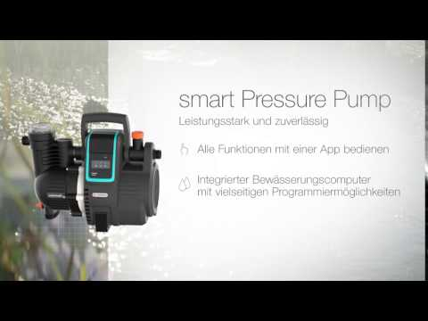 GARDENA smart Haus- & Gartenautomat 5000/5 Hauswasserautomat 19080-20 Video Screenshot 1919